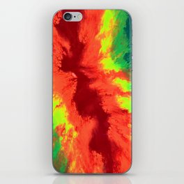 THE RAINBOW - Abstract Fluid Acrylic Painting iPhone Skin