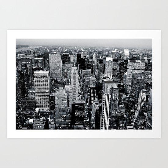 NYC - Big Apple Art Print