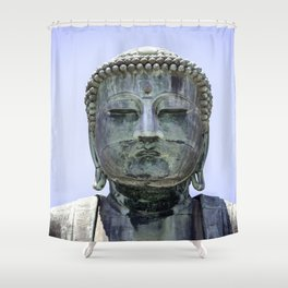 The Great Buddha of Kamakura Shower Curtain