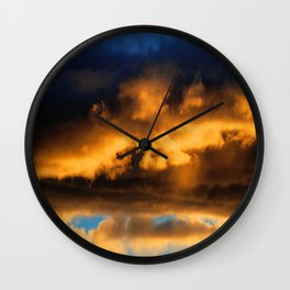 Sunset #182 Wall Clock