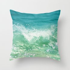 Nature of the sea... Throw Pillow