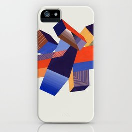 Geometric Painting by A. Mack iPhone Case