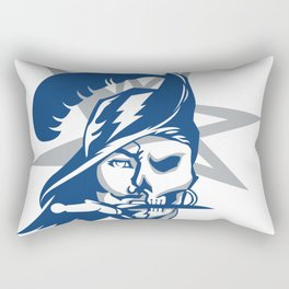2017 Tampa Bay Sports Teams Logo V.2 Rectangular Pillow