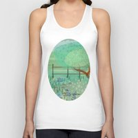 country Tank Tops featuring Country Lane by Alannah Brid