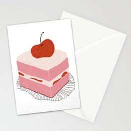 Cherry Cake Stationery Cards