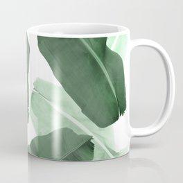 Green Banana Leaf Coffee Mug