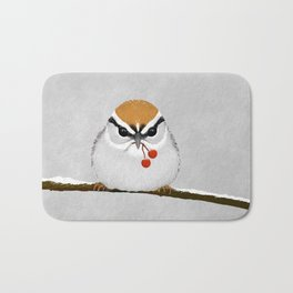 Chipping Sparrow on a Branch Bath Mat