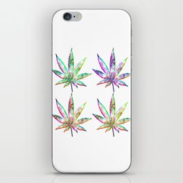 Cannabis Rainbow Design (51) iPhone Skin