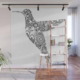 The humming bird Wall Mural