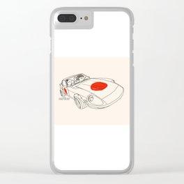 Crazy Car Art 0160 Clear iPhone Case