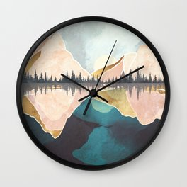 Summer Reflection Wall Clock