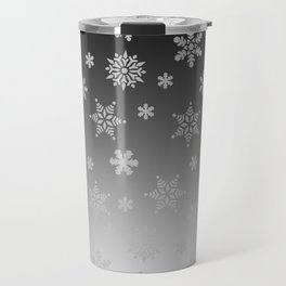 Snow Flurries Travel Mug