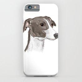 Dog Italian Greyhound iPhone Case