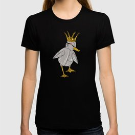 Robot Duck King T-shirt