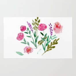 Country Bouquet Rug