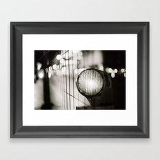 Slow light Framed Art Print