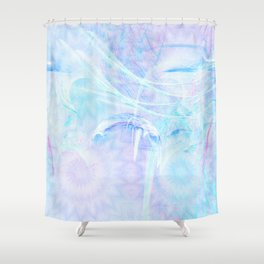 Delicate fairy world Shower Curtain