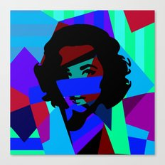 Pop Art Movie Star No.7 Canvas Print