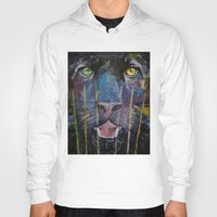 panther Hoodies featuring Panther by Michael Creese