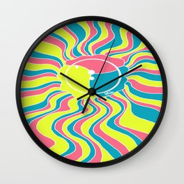 Pan Splash Jelly Wall Clock