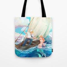 Mermaid & Sailor Tote Bag