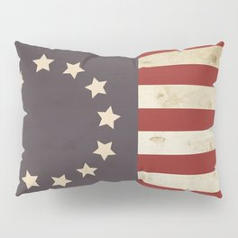 Betsy Ross Flag Pillow Sham