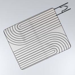 Minimal Line Curvature I Picnic Blanket
