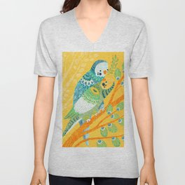 Parakeet Pals Unisex V-Neck