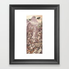 Ninja Scroll Framed Art Print