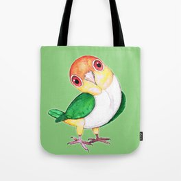 White bellied caique Tote Bag