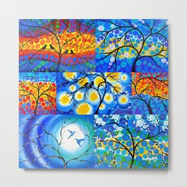 Trees of Life Metal Print