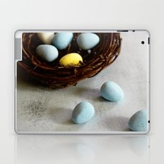 Robin's Eggs and Nest Laptop & iPad Skin