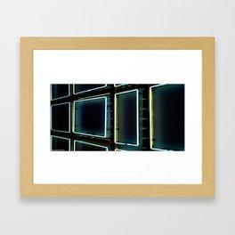 Elastic Neon part 2 Framed Art Print