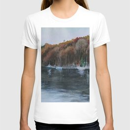 Harbor on the Thames River, CT T-shirt