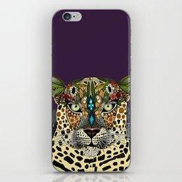 leopard queen iPhone Skin