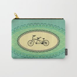 Love Birds on Bikes Carry-All Pouch
