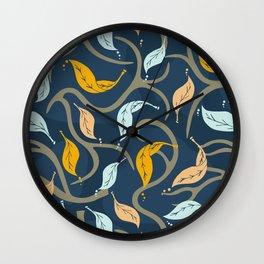 Midnight Fall Wall Clock