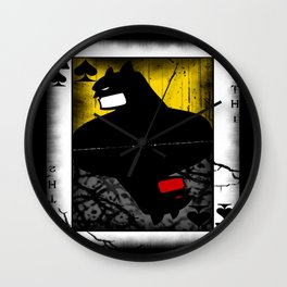 Parallel Knights Wall Clock