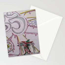 The Demise of Religious Concepts Stationery Cards