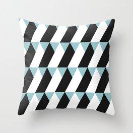 TriTriTriangle Throw Pillow