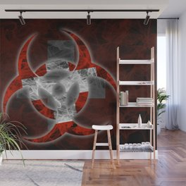 Biohazard Switzerland, Biohazard from Switzerland, Switzerland Quarantine Wall Mural
