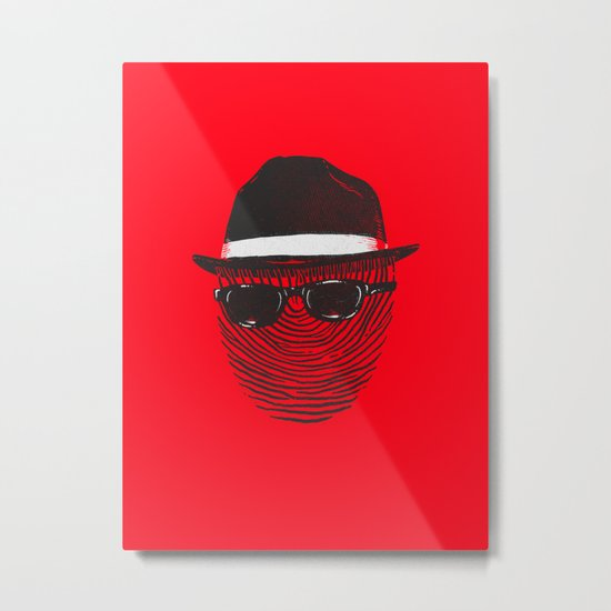 Hidden identity Metal Print