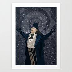 Oswald Cobblepot - The King Penguin Returns! Art Print