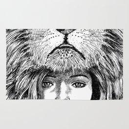 Lion Lady Rug
