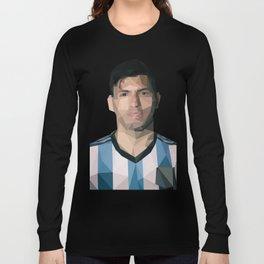 Kun Agüero Long Sleeve T-shirt
