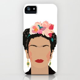 Frida Kahlo Portrait iPhone Case