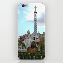 Barcelona, Spain. Parque Guell. iPhone Skin