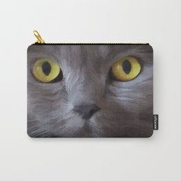 Cat Eyes by Liane Wright Carry-All Pouch