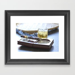 Cigar Time Framed Art Print
