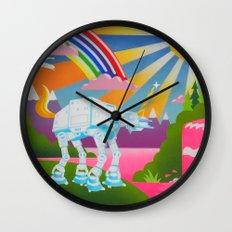 Long Ago and Far Away Wall Clock